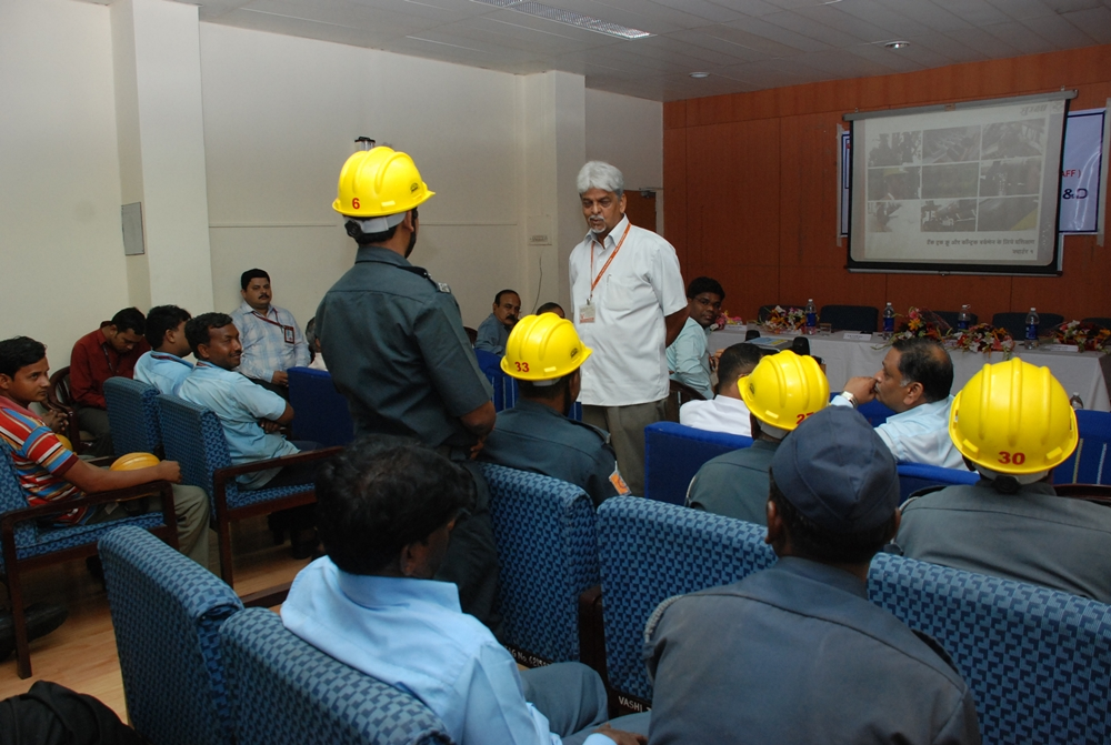 Fire and Safety Training for Hindustan Petroleum Ltd. Mumbai